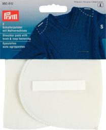 Should.pad hook&loop set-in S white  2pc, 4002279168173