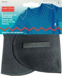 Should.pad hook&loop set-in S black  2pc, 4002279168197