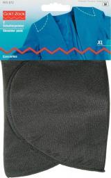 Schulterpolster Halbmond PA XL schwarz, 4002279168432