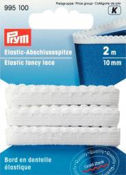 Elastic-Abschlussspitze 10 mm weiß, 4002279111605