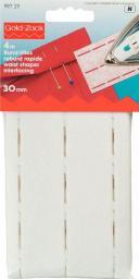 Bund-Vlies perforiert 30 mm weiß, 4002279150079