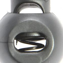 Kordelstopper 1-loch KST 18mm rund, 4028752448594