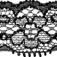 Perlon Lace 22Mm Elastic, 4028752338239