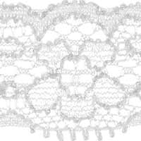 Perlon Lace 22Mm Elastic, 4028752338253