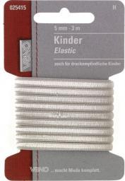 Kinder Elastic SB 5mm weiß, 4028752071723