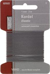 Elastic Kordel SB 1mm hellgrau, 4028752072065