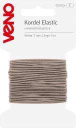 Elastic Cord Self-Service 1mm Light Beige, 4028752072089