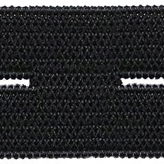 Knopfloch Elastic 18mm schwarz, 4028752087830