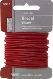 Elastic Kordel SB 3,0mm rot, 4028752362159
