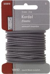 Elastic Kordel SB 3,0mm grau, 4028752362166
