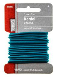 Elastic Kordel SB 3,0mm türkis, 4028752411048