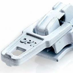 S40 Zipper Fulda, Colored, Nickel Free, 4082700579983