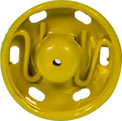 Druckknöpfe MS 7mm gelb, 4028752435013