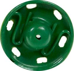 Druckknöpfe MS 7mm grün, 4028752435020