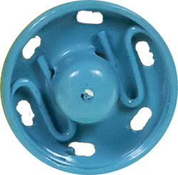 Snap Fasteners MS 11mm blue, 4028752435099