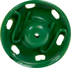 Druckknöpfe MS 11mm grün, 4028752435112