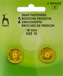 Druckknöpfe MS 18mm gelb, 4028752435228