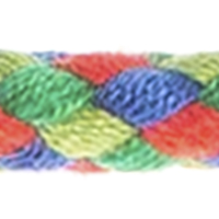 Plaited Cord 6mm Multicolor, 4028752426783