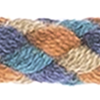 Plaited Cord 6mm Multicolor, 4028752426776