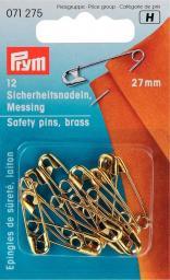 Sicherheitsnadeln MS 27 mm goldfarbig, 4002270712757