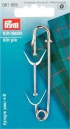 Kiltnadel EIS 76 mm silberfarbig, 4002270816059