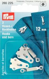 Hosen/Rockhaken und Stege ST 12 mm silberfarbig, 4002272652259