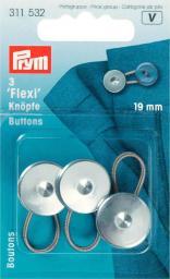 Flexi-Knöpfe mit Schlaufe 19 mm, 4002273115326