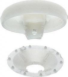 Überziehbare Knöpfe KST 19 mm weiß, 4002273232368