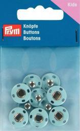 Annähdruckknöpfe Metall 14mm hellblau, 4002273419035