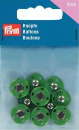 Annähdruckknöpfe Metall 14mm grün, 4002273419073