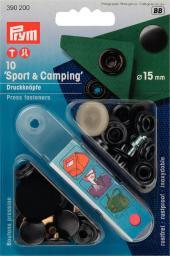 NF-Druckknopf Sport & Camping MS 15 mm brüniert, 4002273902001