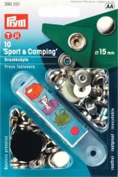 NF-Druckknopf Sport & Camping MS 15 mm silberfarbig, 4002273902018