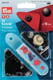 NF-Druckknopf Anorak MS 15 mm brüniert, 4002273903022