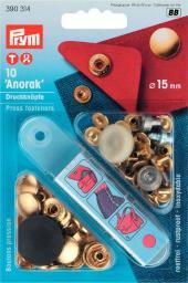 NF-Druckknopf Anorak MS 15 mm goldfarbig, 4002273903145