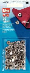 NF-Nachfüllp. MS 8mm für 390360 silberfarbig, 4002273903633