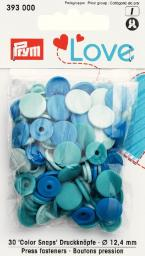 Prym Love ColorSnaps fast.bl.12mm   30pc, 4002273930004