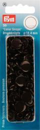 NF Druckkn Color Snaps rund 12,4mm d'braun, 4002273931063