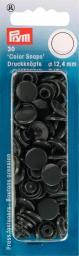 NF Druckkn Color Snaps rund 12,4mm d'grau, 4002273931094