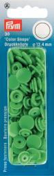 Non-sew ColorSnaps Ø12.4 l'green    30pc, 4002273931148
