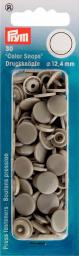 NF Druckkn Color Snaps rund 12,4mm grau, 4002273931247