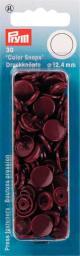 NF Druckkn Color Snaps rund 12,4mm braun, 4002273931261