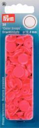 NF Druckkn Color Snaps rund 12,4mm himbeer, 4002273931339