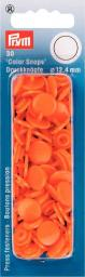 Non-sew ColorSnaps Ø12.4 orange     30pc, 4002273931407
