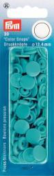 NF Druckkn Color Snaps rund 12,4mm türkis, 4002273931469