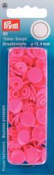 Non-sew ColorSnaps Ø12.4 pink       30pc, 4002273931476