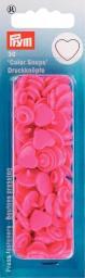 NF Druckkn Color Snaps Herz pink, 4002273933470