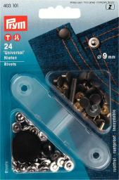 Nieten MS 9 mm silberfarbig/alteisen, 4002274031014