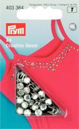 Creativ Decor Strass MS 5 mm silberfarbig, 4002274033643