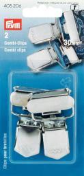 Combi-Clips ST 30 mm silberfarbig, 4002274052064