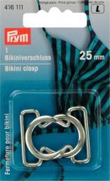 Bikini- und Gürtelverschluss MET 25 mm silberfarbig, 4002274161117